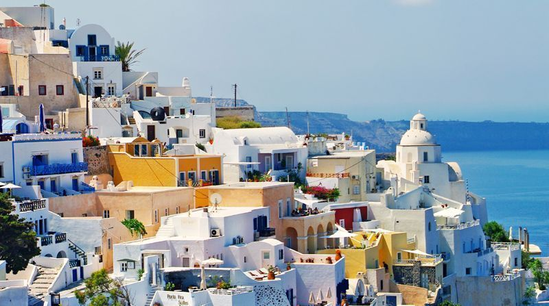 Book your transfer with Santorini Transport and ensure a stress free travel to Fira